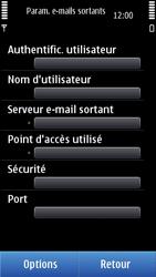 Nokia N8-00 - E-mail - Configuration manuelle - Étape 21