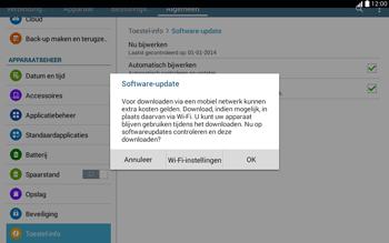 Samsung T535 Galaxy Tab 4 10-1 - Software updaten - Update installeren - Stap 8