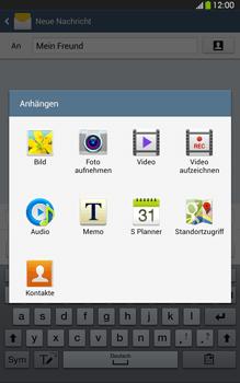 Samsung Galaxy Tab 3 8-0 LTE - MMS - Erstellen und senden - 16 / 24