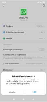 Xiaomi Mi Mix 3 5G - Applications - Comment désinstaller une application - Étape 6