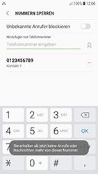 Samsung Galaxy A5 (2017) - Android Oreo - Anrufe - Anrufe blockieren - Schritt 11