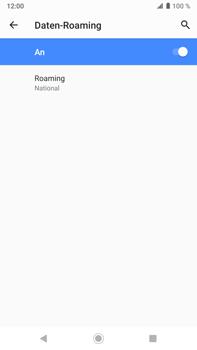 Sony Xperia XZ2 Premium - Android Pie - Ausland - Auslandskosten vermeiden - Schritt 11