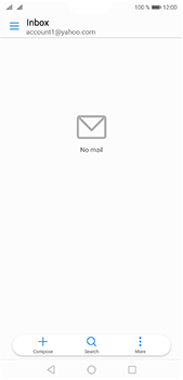 Huawei P20 Pro - E-mail - 032b. Email wizard - Yahoo - Step 3