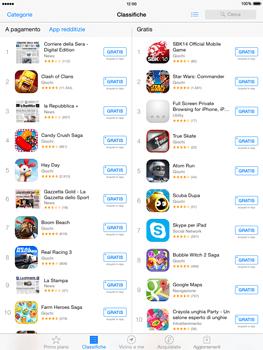Apple iPad mini iOS 8 - Applicazioni - Installazione delle applicazioni - Fase 10