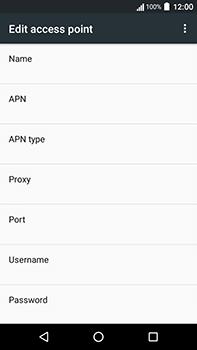 Acer Liquid Zest 4G Plus - Internet - Manual configuration - Step 9