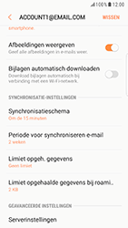 Samsung Galaxy S6 Edge - Android Nougat - E-mail - Instellingen KPNMail controleren - Stap 12