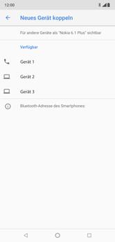 Nokia 6.1 Plus - Bluetooth - Geräte koppeln - Schritt 10
