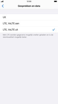 Apple iPhone 8 Plus - iOS 13 - Netwerk - 4G instellen - Stap 6