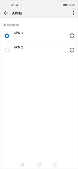 Huawei Nova 5T - Internet und Datenroaming - Manuelle Konfiguration - Schritt 16
