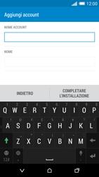 HTC One M8 - E-mail - configurazione manuale - Fase 17