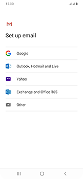 Samsung Galaxy A20e - E-mail - Manual configuration (gmail) - Step 9
