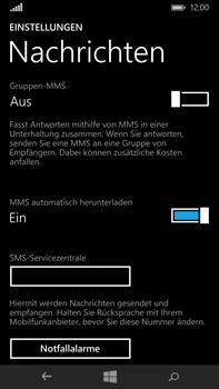 Microsoft Lumia 640 XL - SMS - Manuelle Konfiguration - Schritt 7