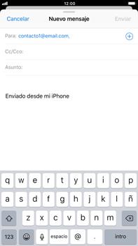 Apple iPhone 8 Plus - E-mail - Escribir y enviar un correo electrónico - Paso 6