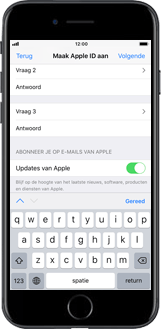 Apple iPhone 6 - iOS 12 - Applicaties - Account instellen - Stap 13