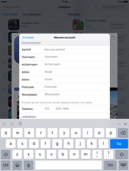 Apple iPad Mini 4 - Applicaties - Account aanmaken - Stap 17