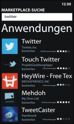 Nokia Lumia 800 / Lumia 900 - Apps - Einrichten des App Stores - Schritt 6