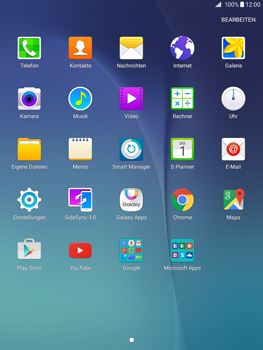 Samsung Galaxy Tab A 9.7 - E-Mail - Konto einrichten - 3 / 19