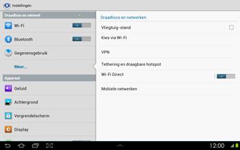 Samsung P5100 Galaxy Tab 2 10-1 - Bellen - in het buitenland - Stap 5