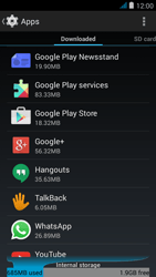 Wiko jimmy - Applications - How to uninstall an app - Step 5