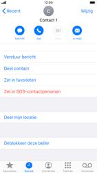 Apple iPhone SE (2020) (Model A2296) - Beveiliging en ouderlijk toezicht - Nummer blokkeren - Stap 7