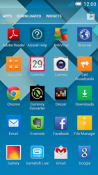 Alcatel OT-5036X Pop C5 - Internet - Internet browsing - Step 2