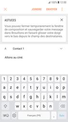 Samsung Galaxy S6 - Android Nougat - E-mail - envoyer un e-mail - Étape 8