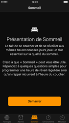 Apple iPhone 6 iOS 10 - iOS features - Coucher - Étape 4