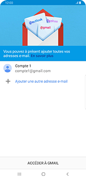 Samsung Galaxy Note9 - Android Pie - E-mail - 032a. Email wizard - Gmail - Étape 12