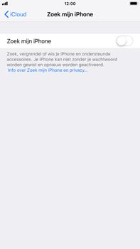 Apple iPhone 7 Plus - iOS 12 - Beveiliging en privacy - zoek mijn iPhone activeren - Stap 11