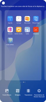 Huawei P40 Lite 5G - Applications - Personnaliser l