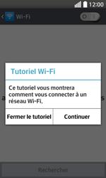 LG F70 - Internet et connexion - Accéder au réseau Wi-Fi - Étape 5