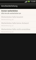 HTC Desire X - Anrufe - Rufumleitungen setzen und löschen - 7 / 8
