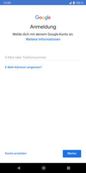 Sony Xperia XZ3 - Apps - Konto anlegen und einrichten - Schritt 5