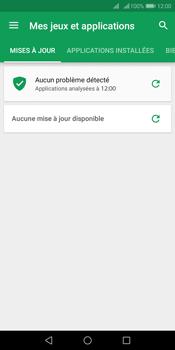 Huawei Y7 (2018) - Applications - Comment vérifier les mises à jour des applications - Étape 5