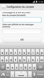 Huawei Ascend Y550 - E-mail - Configuration manuelle (outlook) - Étape 9