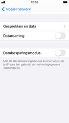 Apple iPhone SE - iOS 13 - Internet - Dataroaming uitschakelen - Stap 6