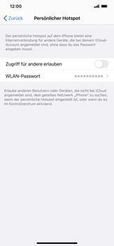 Apple iPhone 11 - iOS 14 - WiFi - So aktivieren Sie einen WLAN-Hotspot - Schritt 6