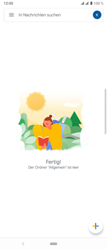 Sony Xperia 10 Plus - E-Mail - Konto einrichten (gmail) - Schritt 7