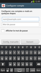 Samsung Galaxy S 4 LTE - E-mail - configuration manuelle - Étape 5