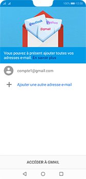Huawei P20 - Android Pie - E-mail - 032a. Email wizard - Gmail - Étape 12