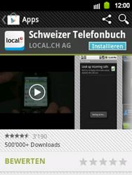 Samsung Galaxy Y - Apps - Installieren von Apps - Schritt 7