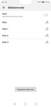 Huawei P20 - Android Pie - Rete - Selezione manuale della rete - Fase 11