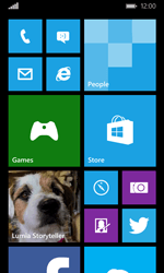 Microsoft Lumia 532 - Email - Manual configuration POP3 with SMTP verification - Step 1