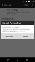 HTC Desire 620 - Bluetooth - Geräte koppeln - Schritt 9