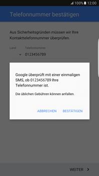 Samsung Galaxy S6 edge+ - Apps - Konto anlegen und einrichten - 9 / 21