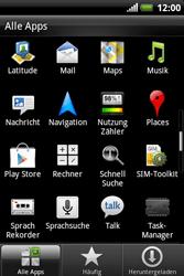 HTC A310e Explorer - E-Mail - Konto einrichten - Schritt 3