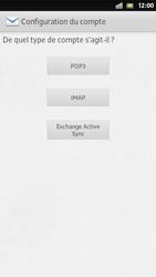 Sony Xperia S - E-mail - Configuration manuelle - Étape 7