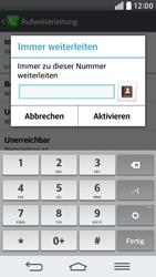 LG G2 mini - Anrufe - Rufumleitungen setzen und löschen - 1 / 1