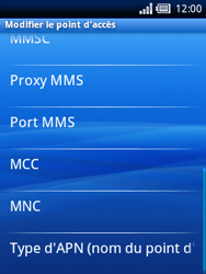 Sony Ericsson Xperia X10 Mini Pro - Internet - configuration manuelle - Étape 10