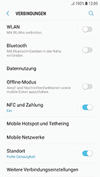 Samsung Galaxy J3 (2017) - Internet und Datenroaming - Prüfen, ob Datenkonnektivität aktiviert ist - Schritt 5